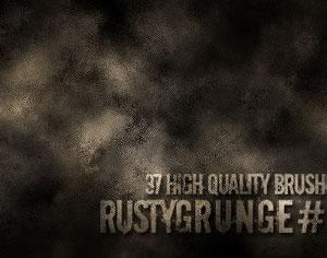 Rusty Grunge Photoshop brush
