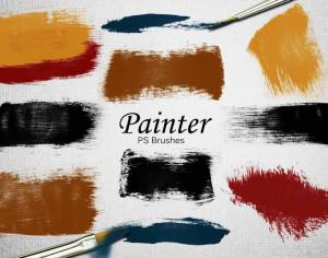 20 Painter PS Brushes abr.Vol.8 Photoshop brush