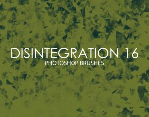 Free Disintegration Photoshop Brushes 16 Photoshop brush