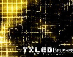 Tiled Brushes Set 1 Photoshop brush