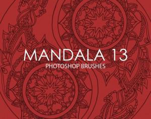 Free Mandala Photoshop Brushes 13 Photoshop brush