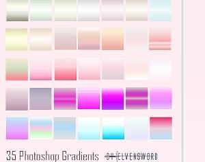 Candide Ps Gradients Photoshop brush