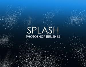 Free Splash Photoshop Brushes Photoshop brush