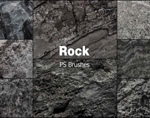 20 Rock Texture PS Brushes abr vol.12 Photoshop brush