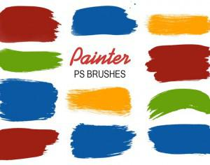 20 Painter PS Brushes abr.vol.4 Photoshop brush