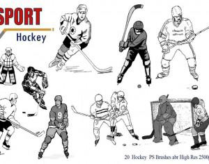 Hockey Ps Brushes abr. Photoshop brush