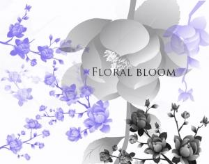 Floral Bloom Photoshop brush