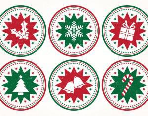 Christmas Stamp Brushes Photoshop brush