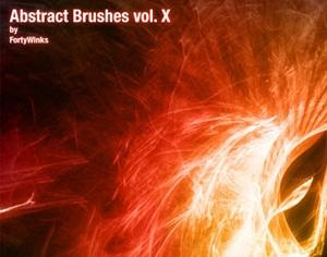 Abstract brush pack Photoshop brush