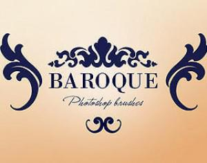 WG Baroque Ornaments Photoshop brush