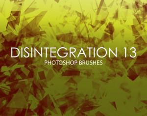 Free Disintegration Photoshop Brushes 13 Photoshop brush