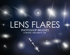 Free Lens Flares Photoshop Brushes Photoshop brush