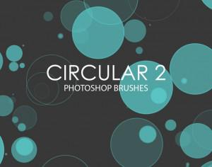 Free Circular Photoshop Brushes 2 Photoshop brush