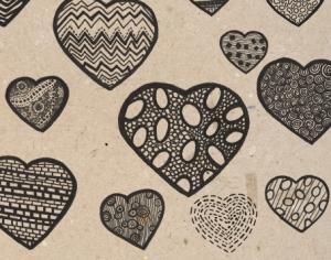 Detailed Hearts - Brushes Photoshop brush