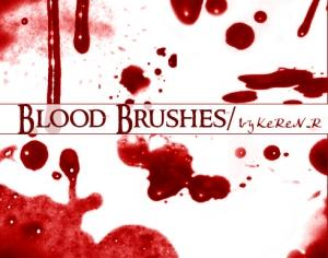 Blood Brushes Photoshop brush