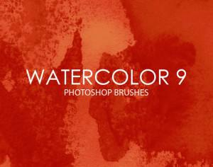 Free Watercolor Photoshop Brushes 9 Photoshop brush