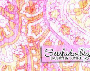 FREE Seishido.biz Ornament Brushes  Photoshop brush