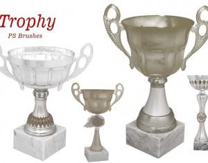 20 Trophy PS Brushes abr.vol.3 Photoshop brush