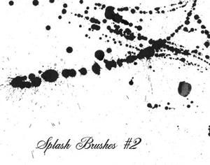 Splash Brushes No.2 Photoshop brush