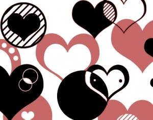 Hearts Vector Photoshop brush