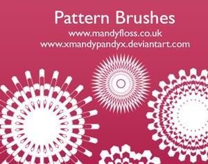 Pattern Brushes Photoshop brush