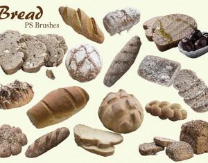 20 Bread PS Brushes.abr Vol.5 Photoshop brush