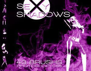 Sexy Shadows Brush Pack Photoshop brush