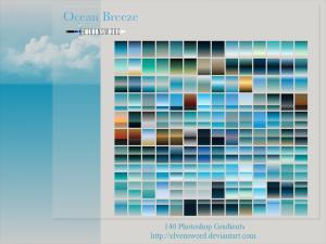 Ocean Breeze Ps Gradients Photoshop brush
