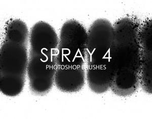 Free Spray Photoshop Brushes 4 Photoshop brush