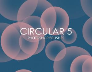 Free Circular Photoshop Brushes 5 Photoshop brush