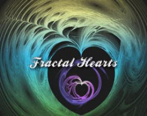 Fractal Hearts Photoshop brush