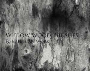 Wood Brushes the sequel - Rehbelle Photoshop brush