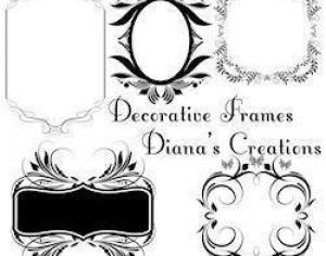 Decorative Frames Photoshop brush