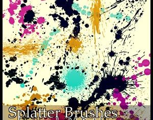 Splatter 6 Photoshop brush