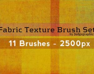 Fabric Texture Brushes Photoshop brush