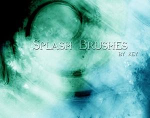 Splash Brushes Photoshop brush