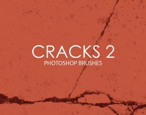 Free Cracks Photoshop Brushes 2 Photoshop brush