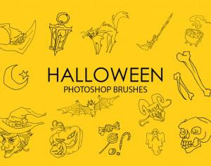 Free Halloween Photoshop Brushes Photoshop brush