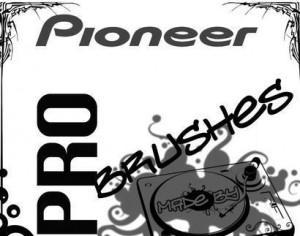 Pioneer DJ Brushes By Daantjuh040 Photoshop brush