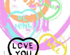 Love Hearts Brushes Photoshop brush