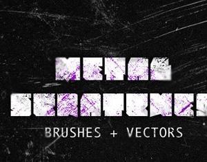 Metal Scratches Photoshop brush
