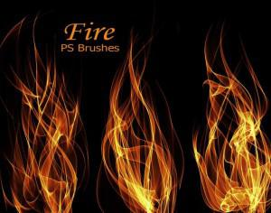 20 Fire PS Brushes abr.Vol.9 Photoshop brush