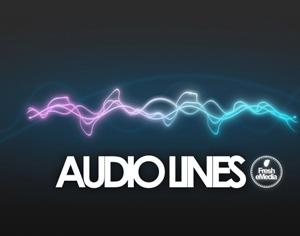 Audio Lines Photoshop brush