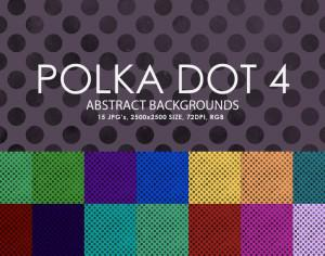 Free Polka Dot Backgrounds 4 Photoshop brush