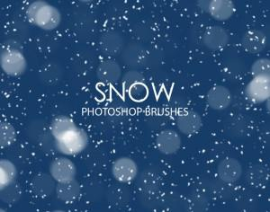 Free Snow Photoshop Brushes Photoshop brush