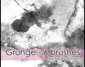 Grunge Photoshop brush
