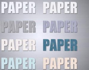 Paper Styles Photoshop brush
