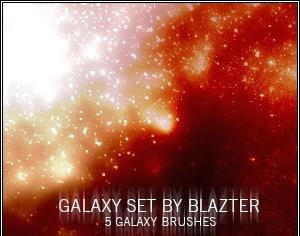 Galaxy Set Photoshop brush