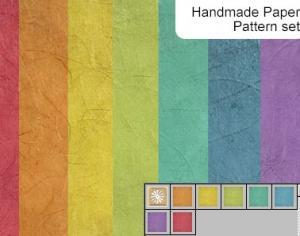 Handmade Paper Pattern Photoshop brush
