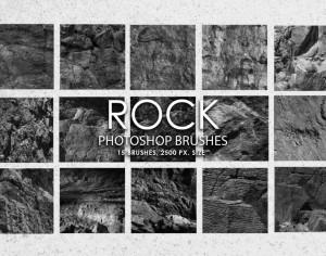 Free Rock Photoshop Brushes Photoshop brush